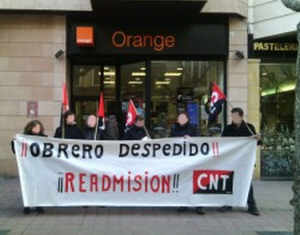 conflicto contra la empresa de telemarketing Arvato-Qualytel, Asociación Internacional de los Trabajadores, International Workers Association,CNT-AIT