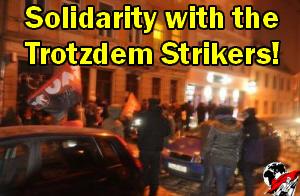 [Communiqué AIT]: Des serveurs-euses anarchosyndicalistes d'Allemagne en grève contre les licenciements soltrotz
